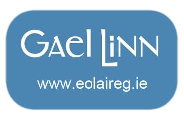 GaelLinn logo Gnéithe